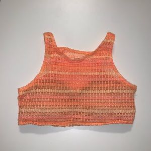 Knitted Volcom swim top